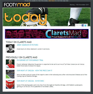Footymad Newsletter